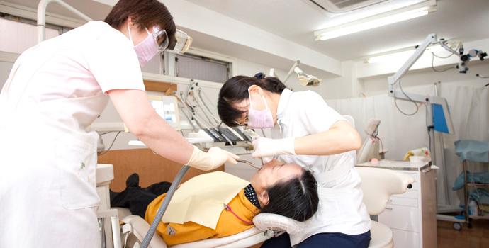 治療前の検査
